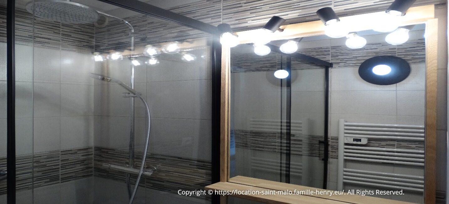 Salle de douche saint-malo